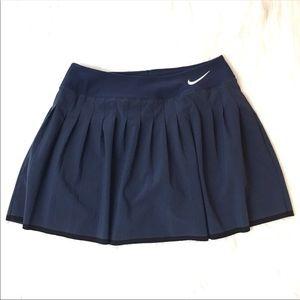 Nike Dri-Fit Navy Tennis Skirt